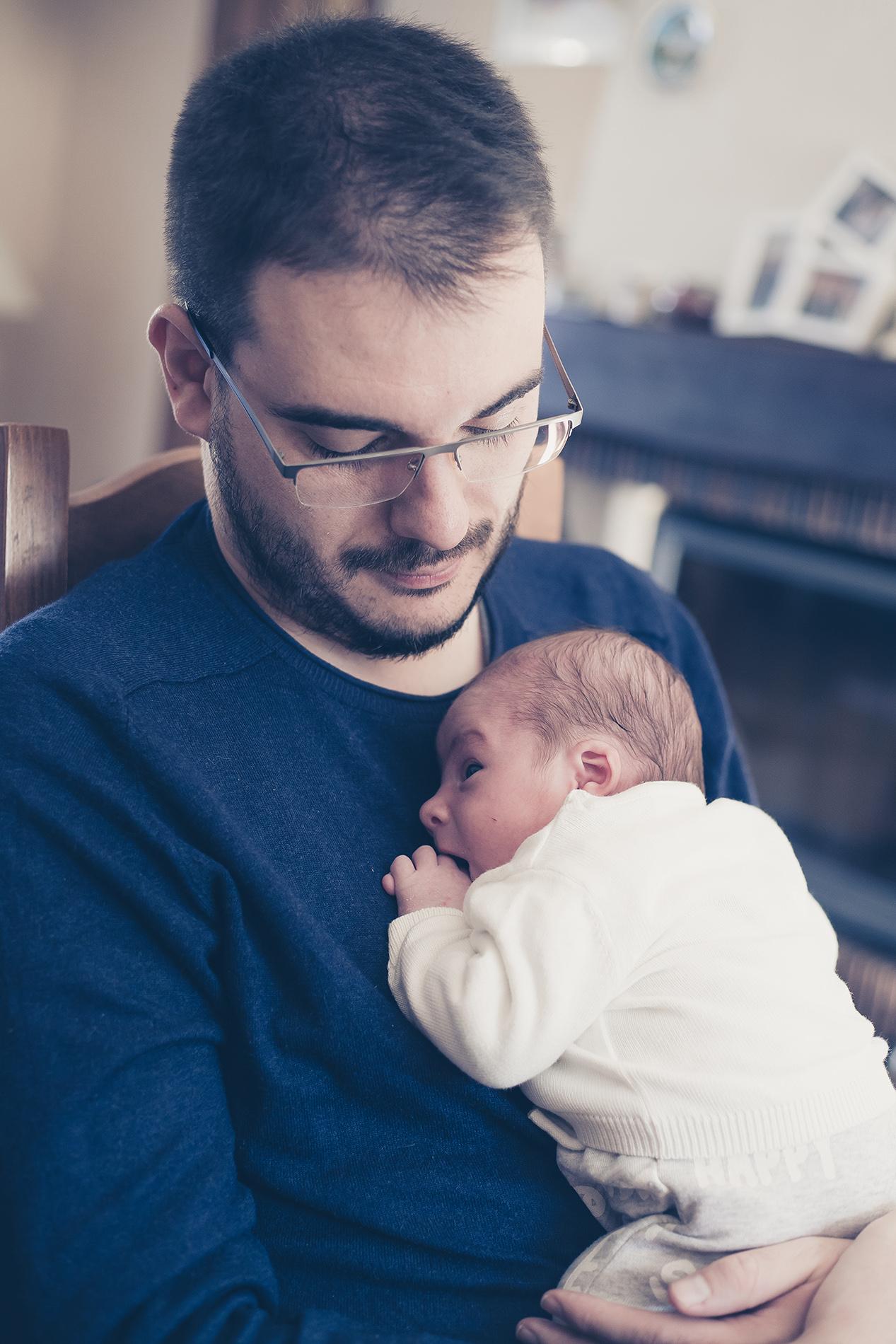moment avec papa