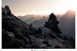 Landscape dans les pyrénées
