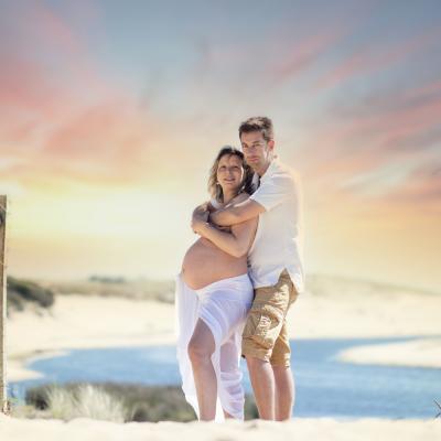 Photographe de grossesse et maternité à dax