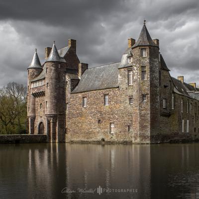 Chateau de bretagne en photo