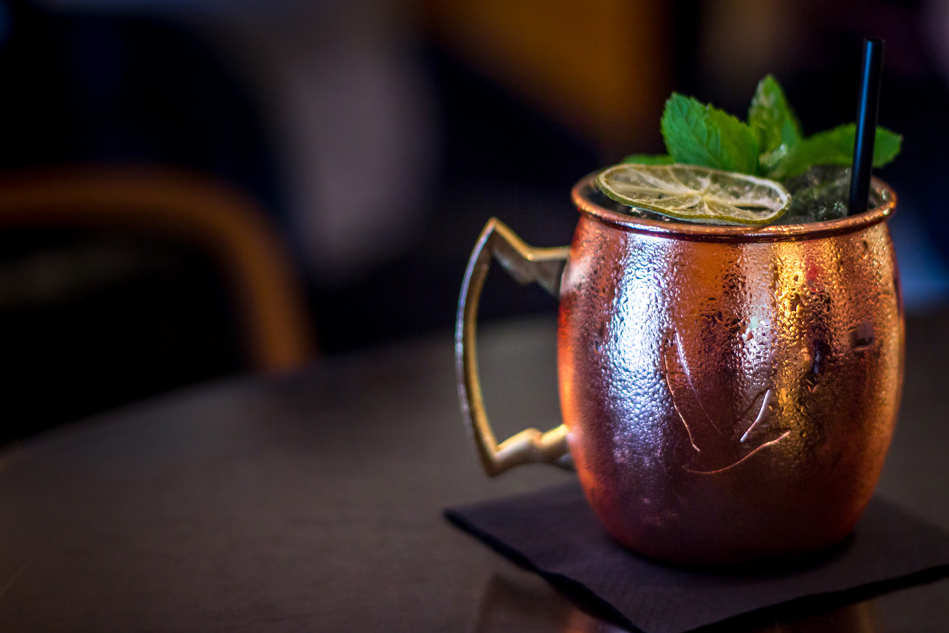 cocktail au mojo à dax mixologie