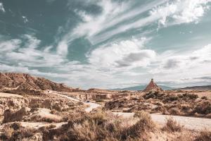 Landscape photo de paysage bardenas reales vus par une dacquoise