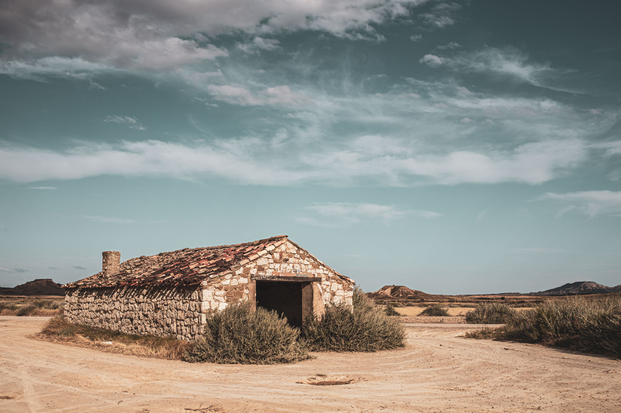 Desert des bardenas - tirage d'art à commander