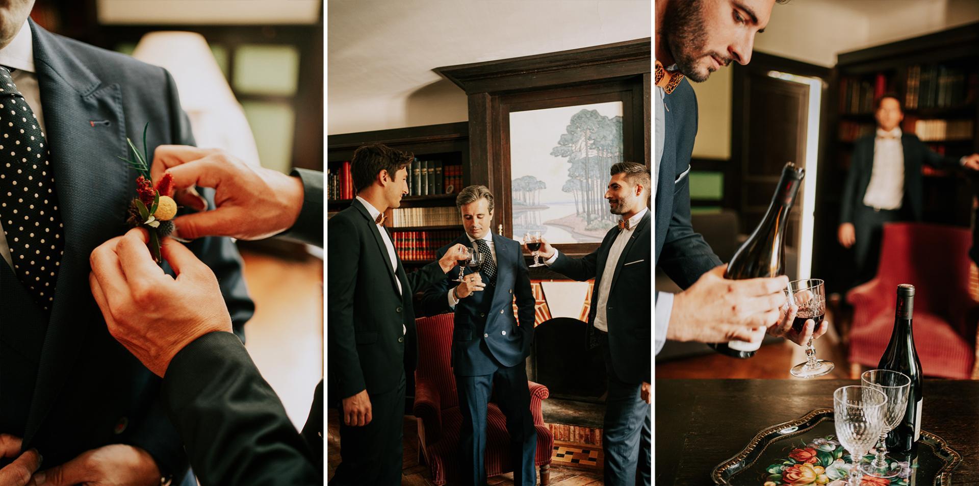 11 photographe landes dax mariage allison micallef moment entre hommes