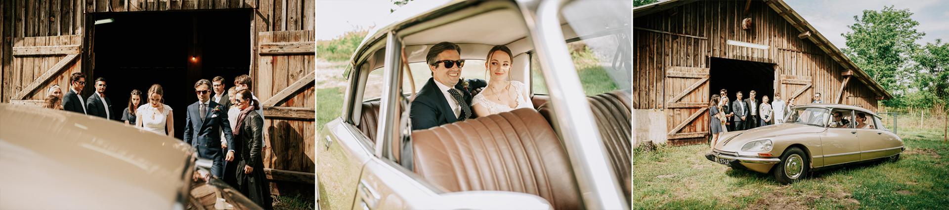 19 photographe de mariage landes dax aquitaine allison micallef la voiture