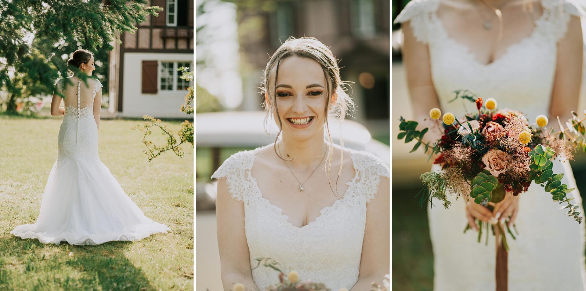 24 photographe de mariage landes dax aquitaine allison micallef le bouquet de la mariee