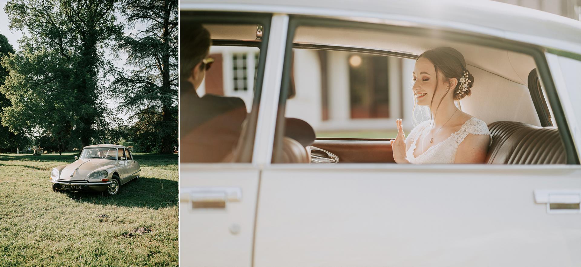 25 photographe de mariage landes dax aquitaine allison micallef la voiture ancienne 1