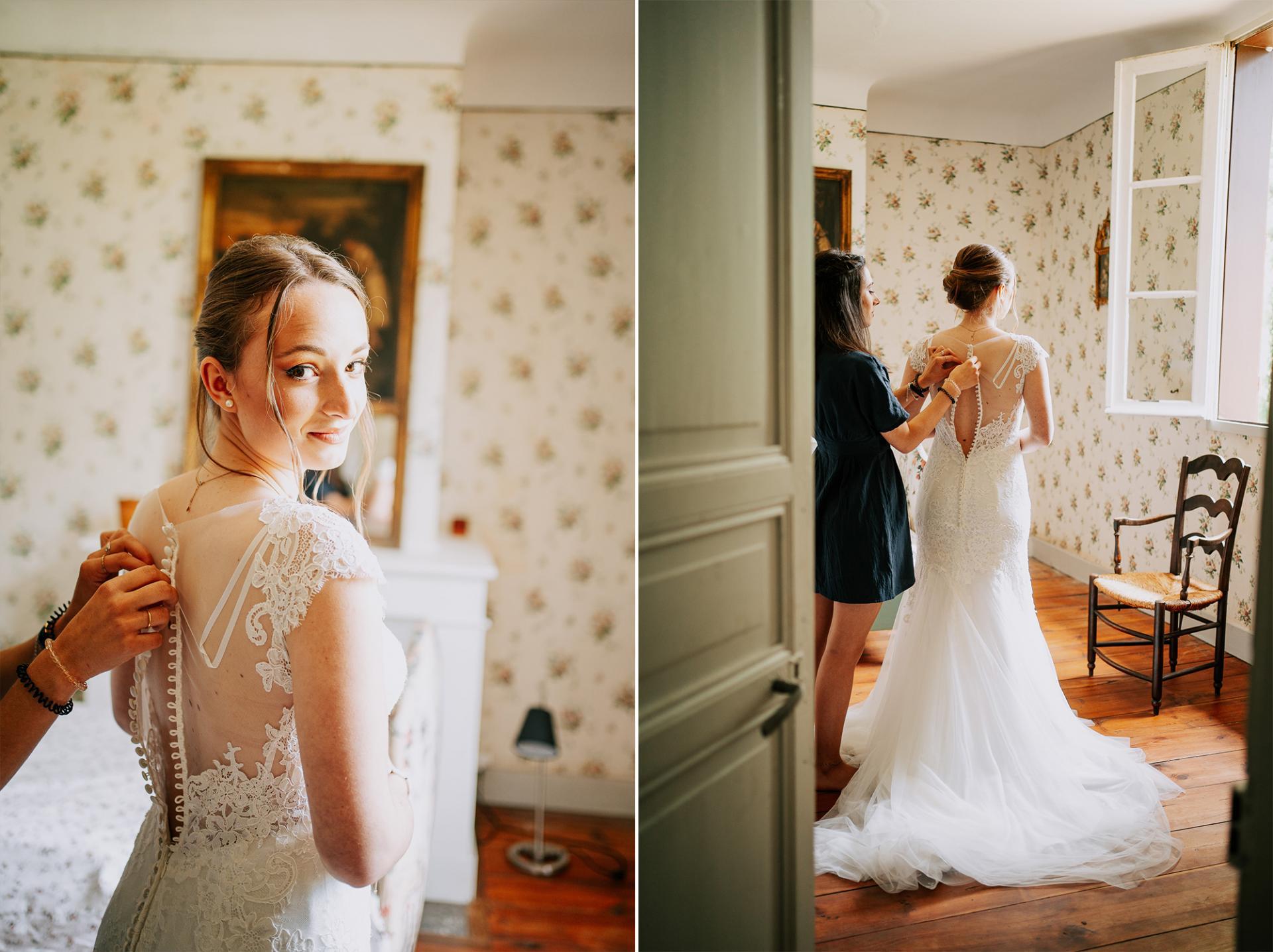 5 photographe landes dax mariage allison micallef robe de mariee