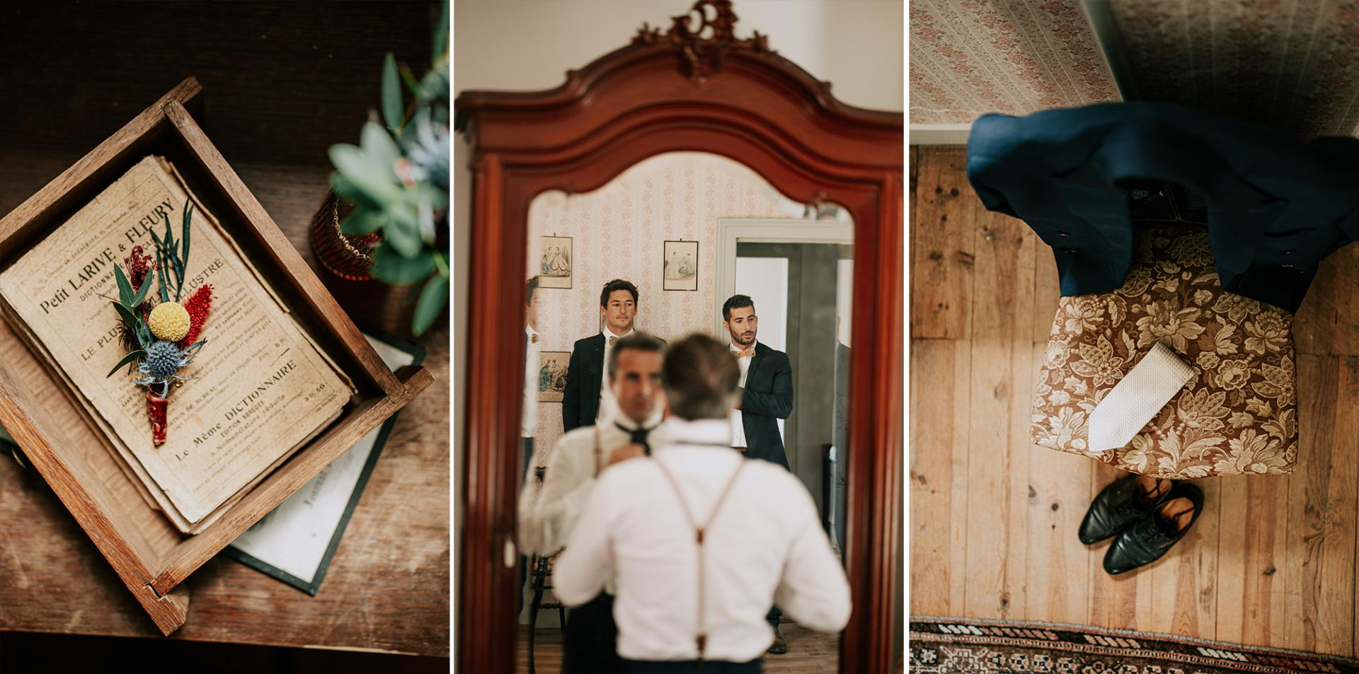 8 photographe landes dax mariage allison micallef preparatifs du marie