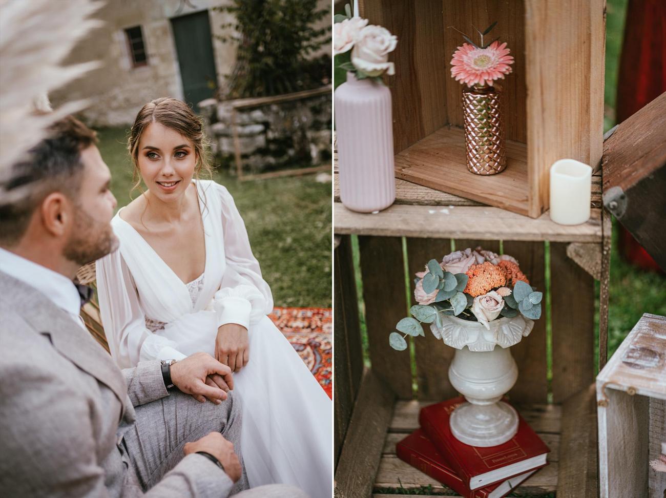 Ceremonie laique mariage landes photographe dax inspiration