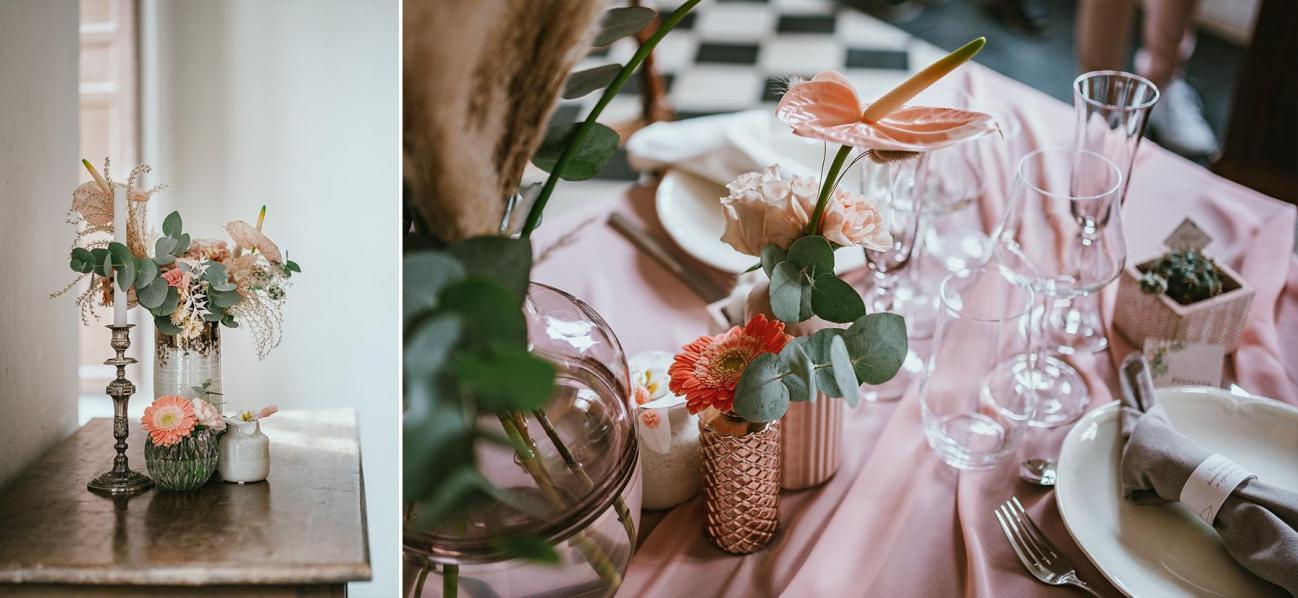 Deco table mariage landes photographe dax fleuriste