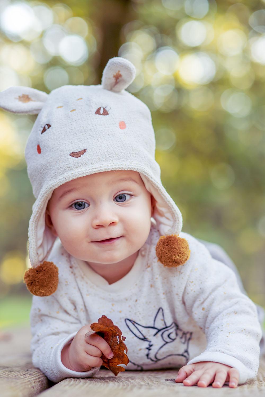 Portrait bébé sur Dax