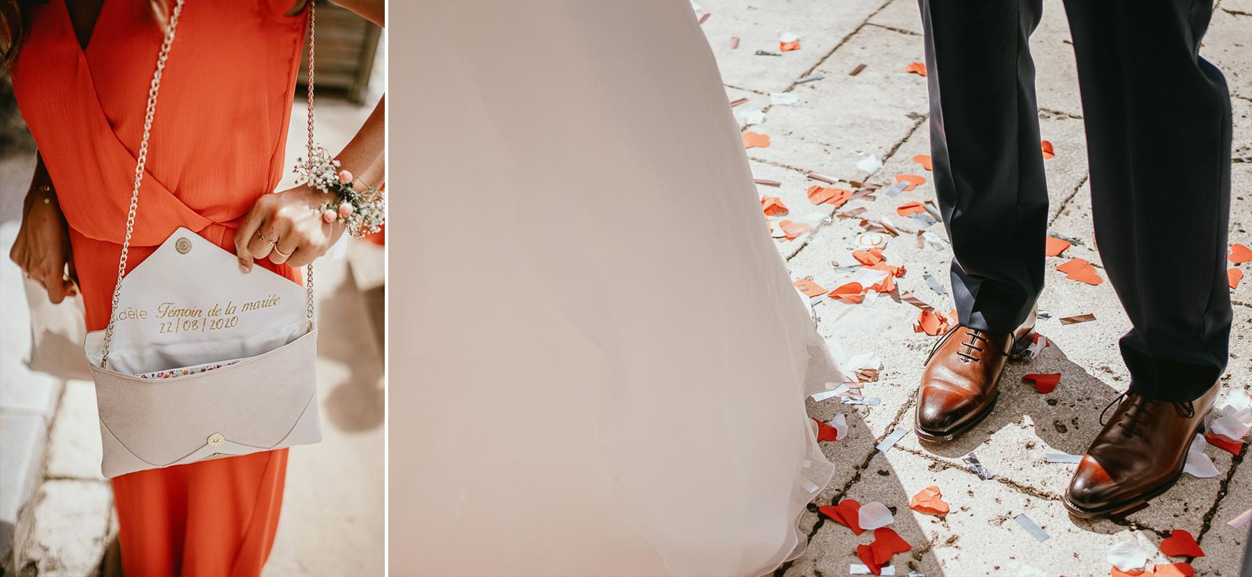 Mariage landes photographe eglise details