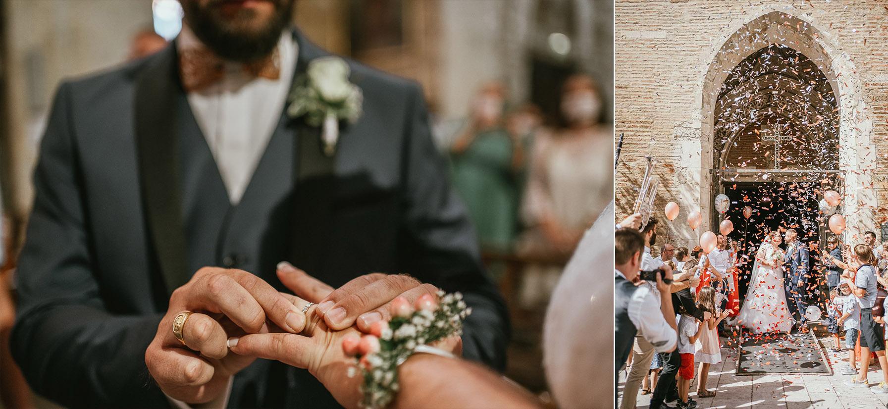 Mariage landes photographe eglise