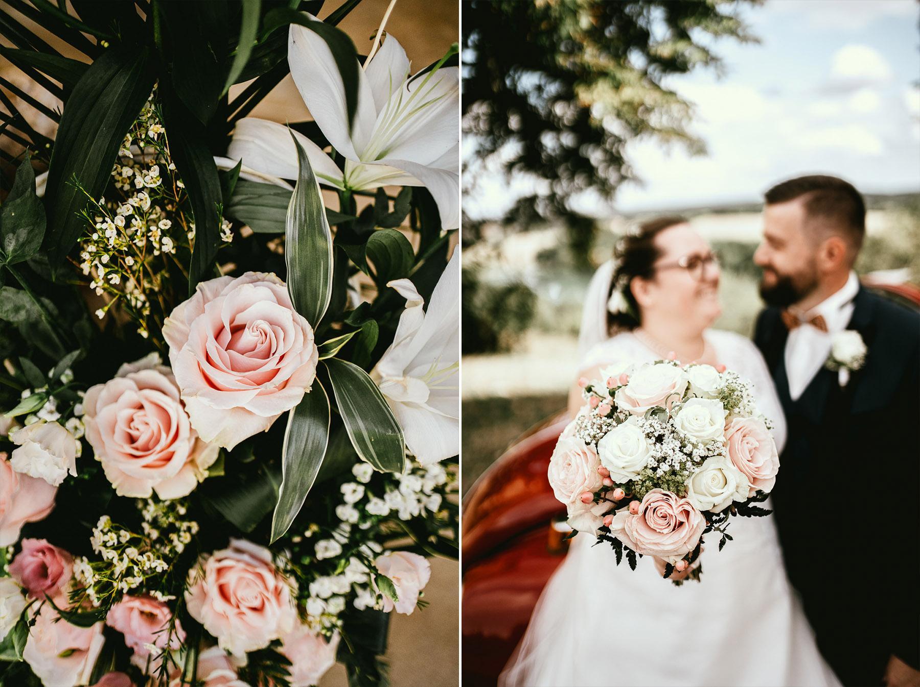 Mariage landes photographe fleuriste