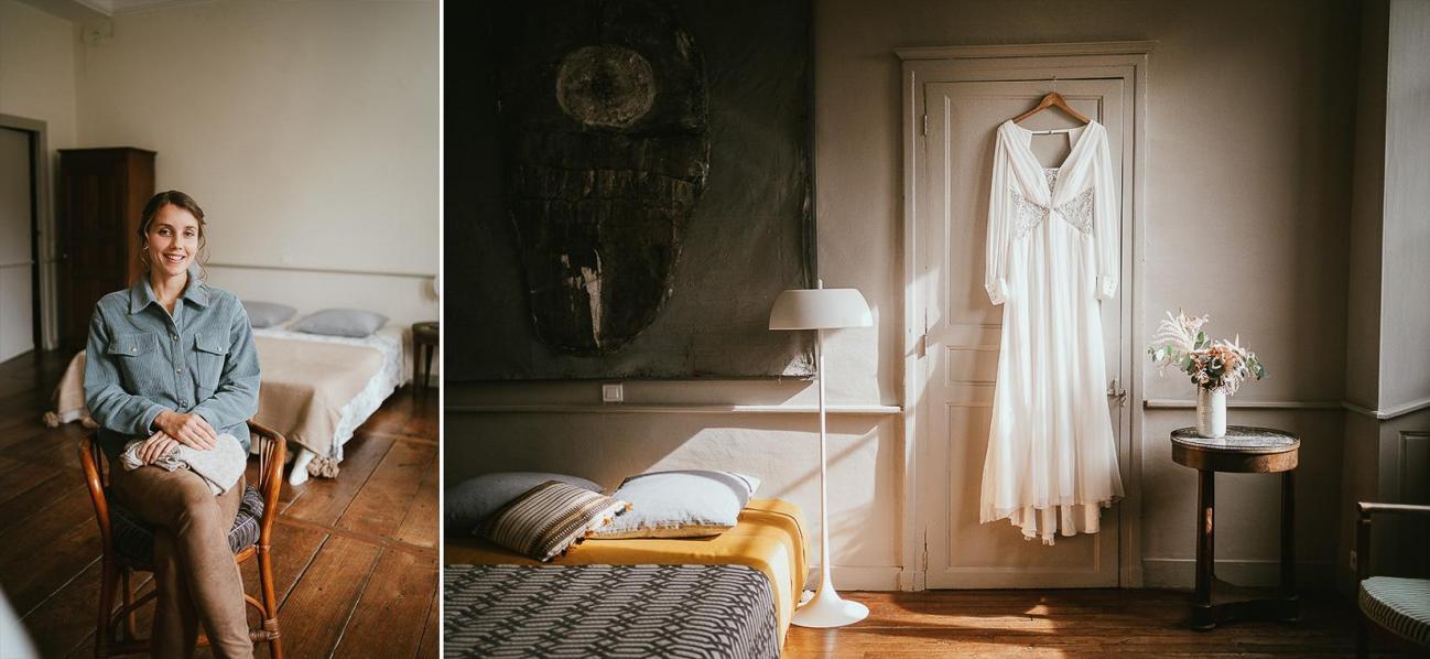 Mariage landes photographe inspiration elopement rustique wedding 73