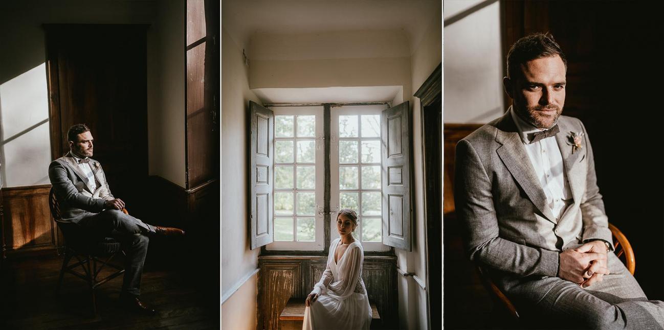 Mariage landes photographe inspiration elopement rustique wedding 79