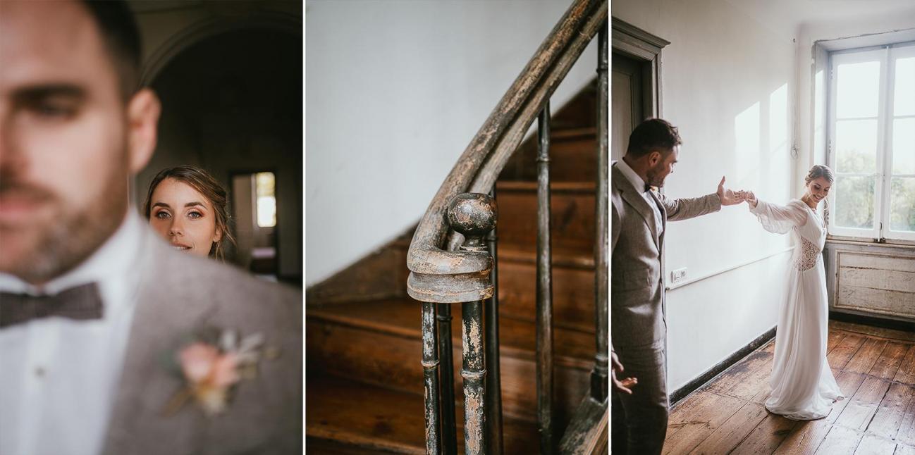 Mariage landes photographe inspiration elopement rustique wedding 82