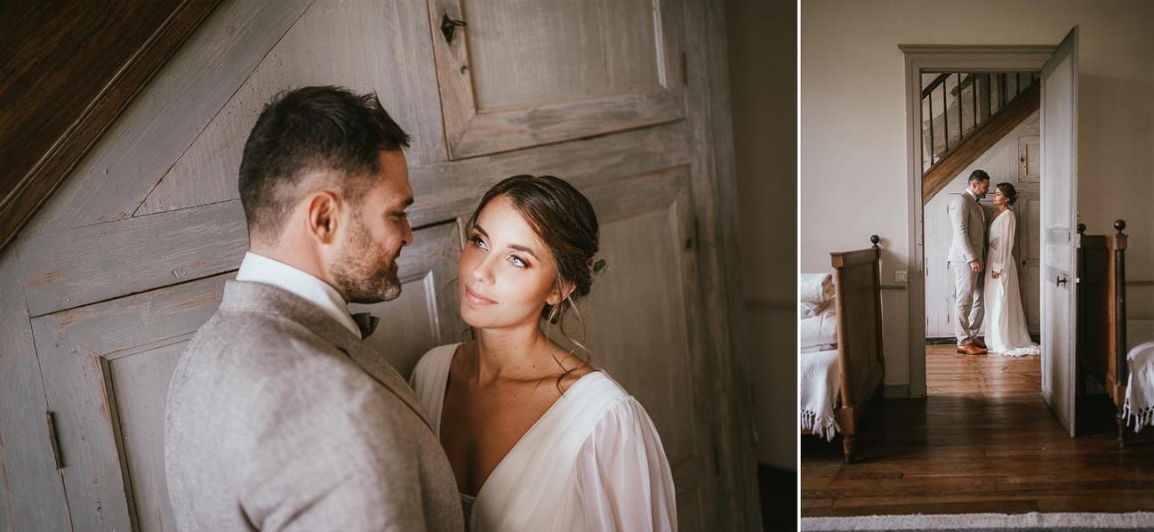 Mariage landes photographe inspiration elopement rustique wedding 83