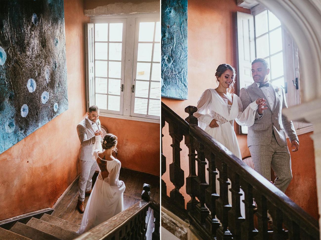 Mariage landes photographe inspiration elopement rustique wedding 84