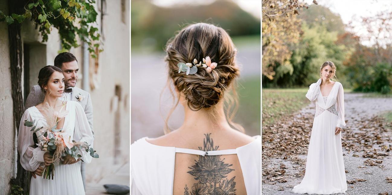 Mariage landes photographe inspiration elopement rustique wedding 87
