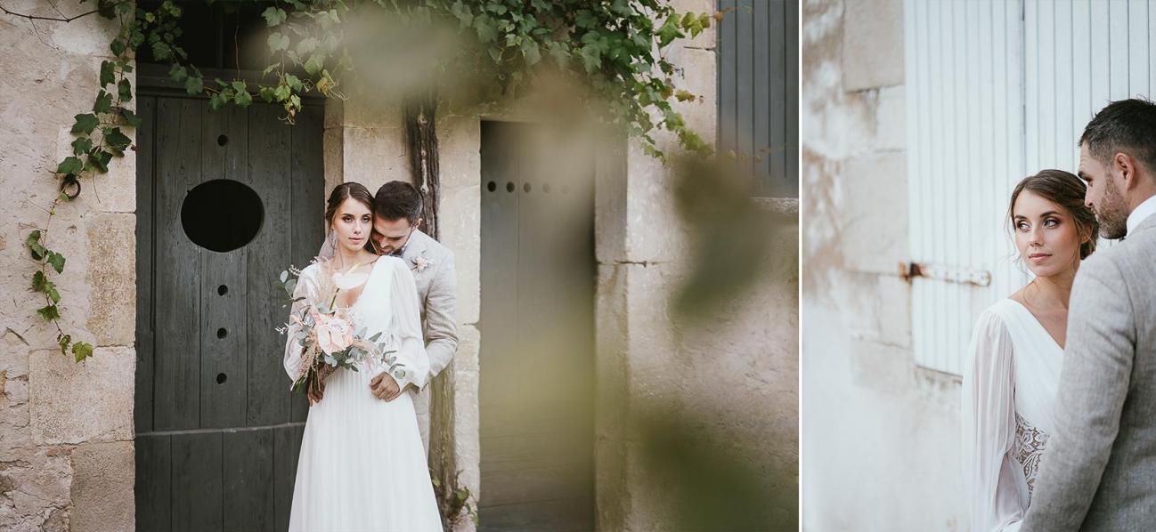 Mariage landes photographe inspiration elopement rustique wedding 89