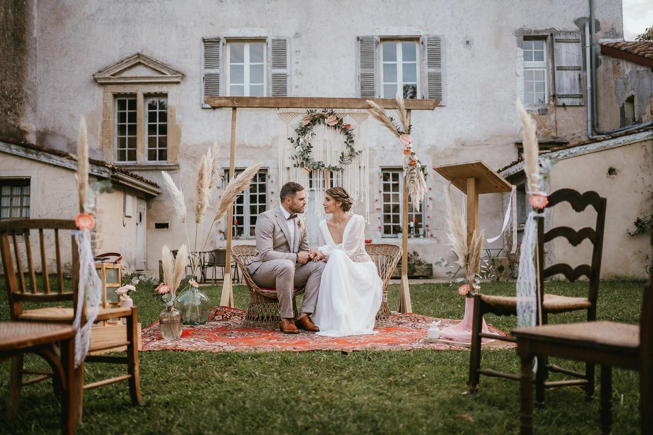 Mariage landes photographe inspiration elopement rustique wedding 92