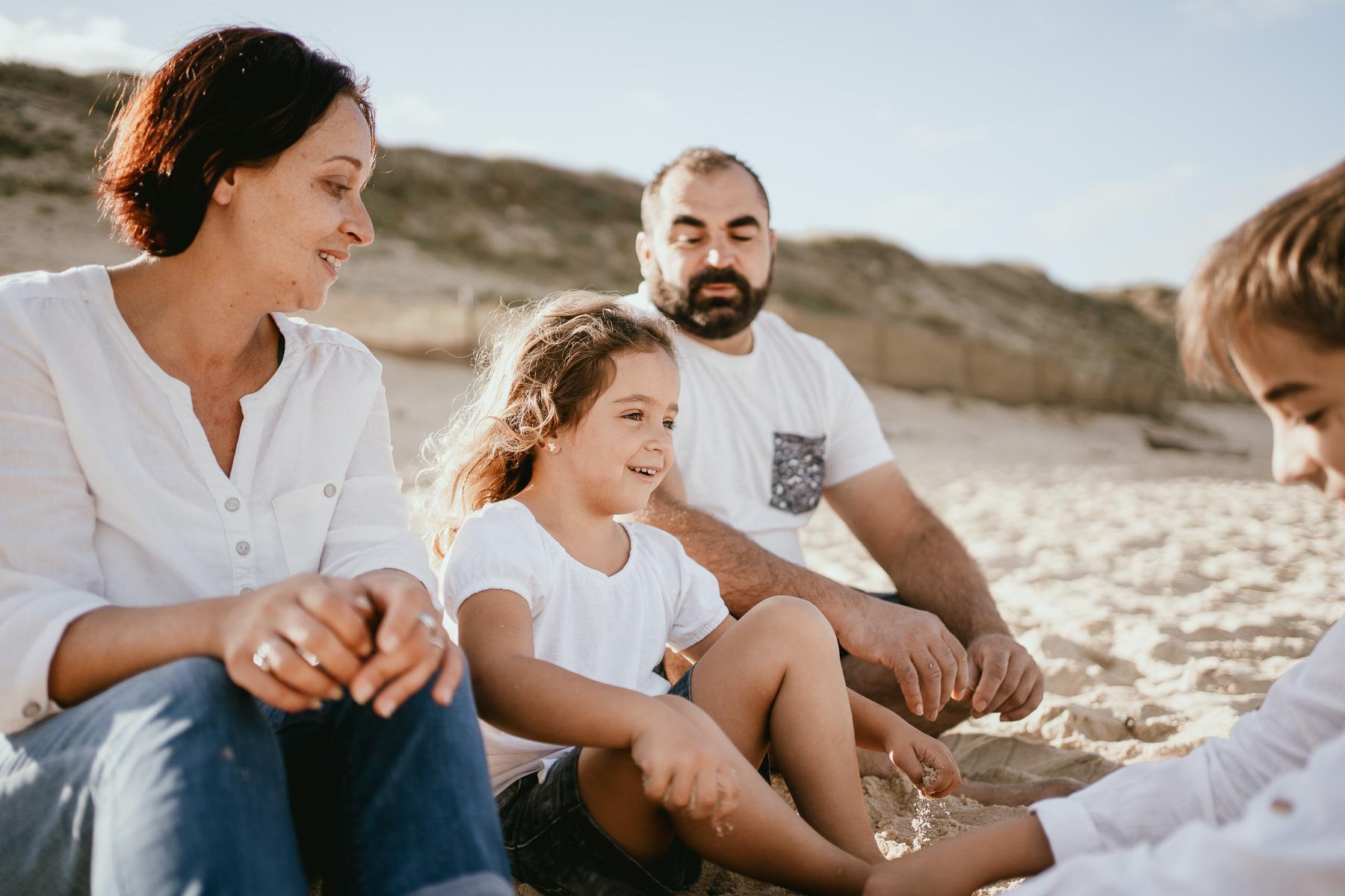 Photo famille capbreton plage photographe 15