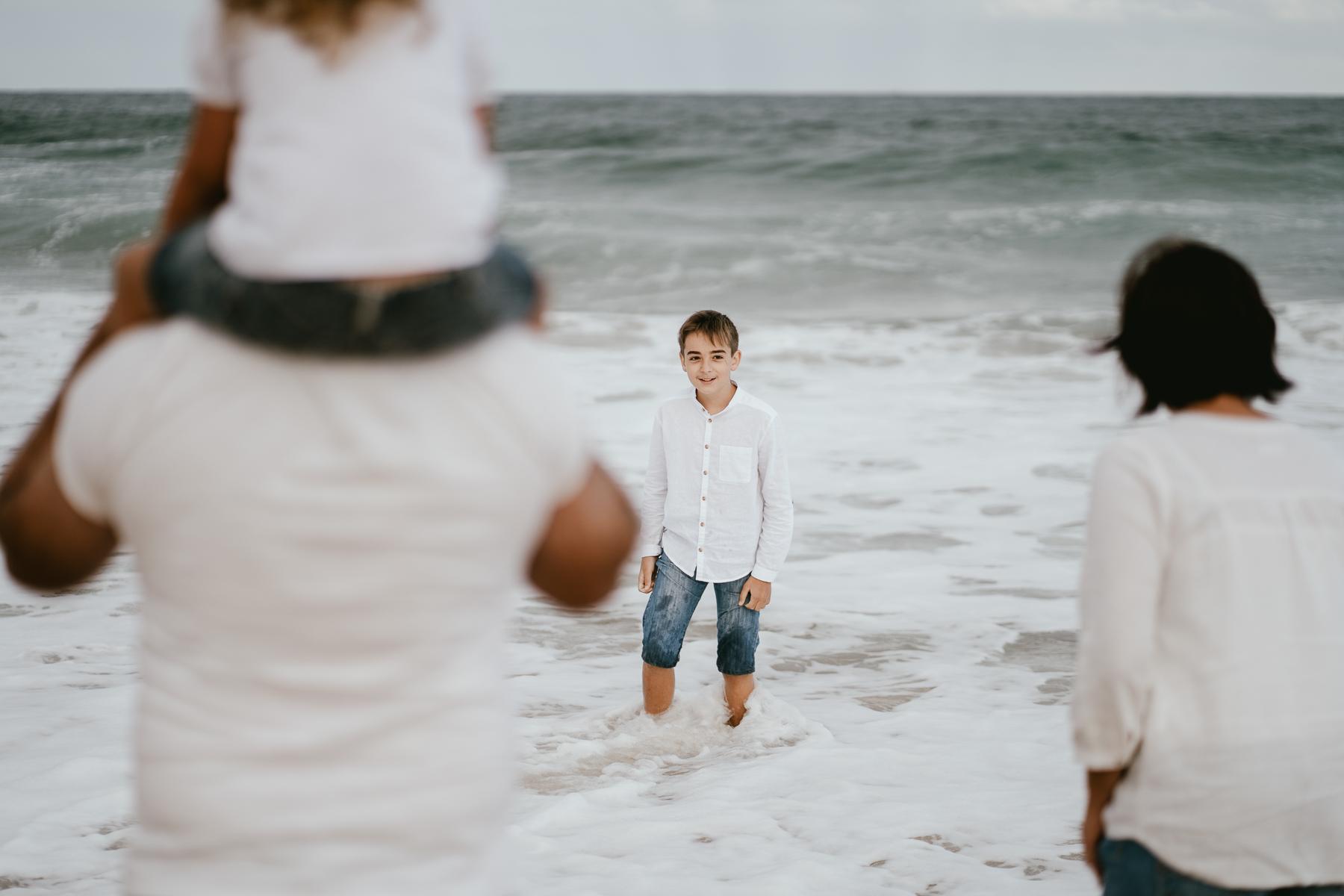 Photo famille capbreton plage photographe 2