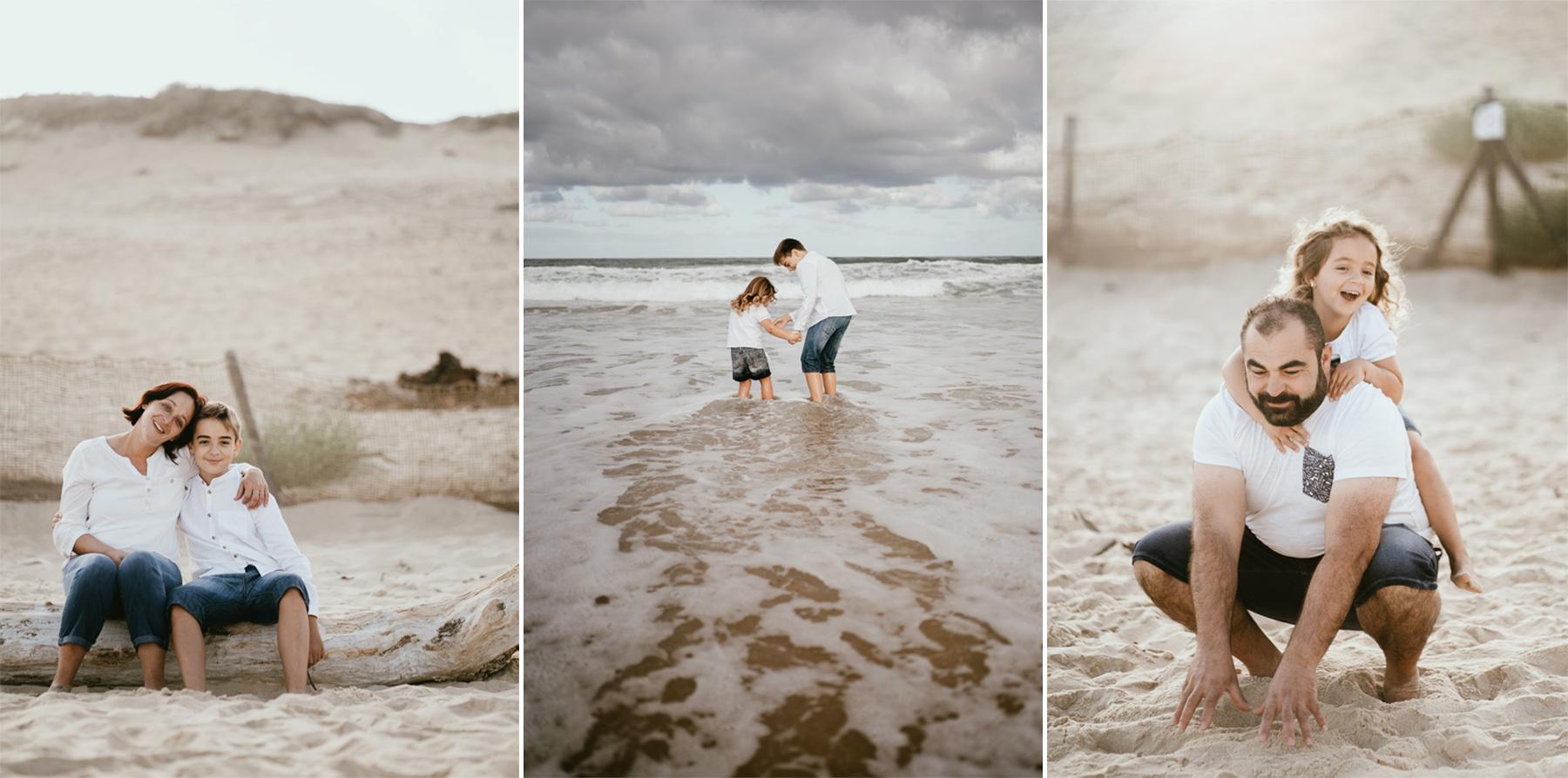 Photo famille capbreton plage photographe 7b