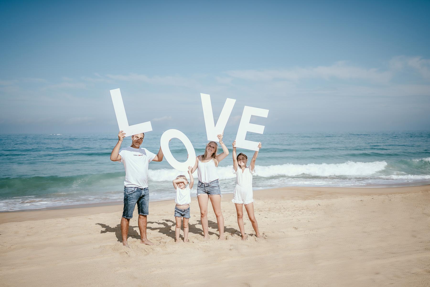 Photo famille landes capbreton plage foret photographe 10