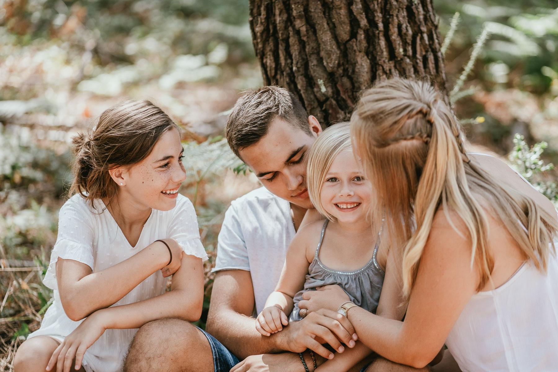 Photo famille landes capbreton plage foret photographe 12