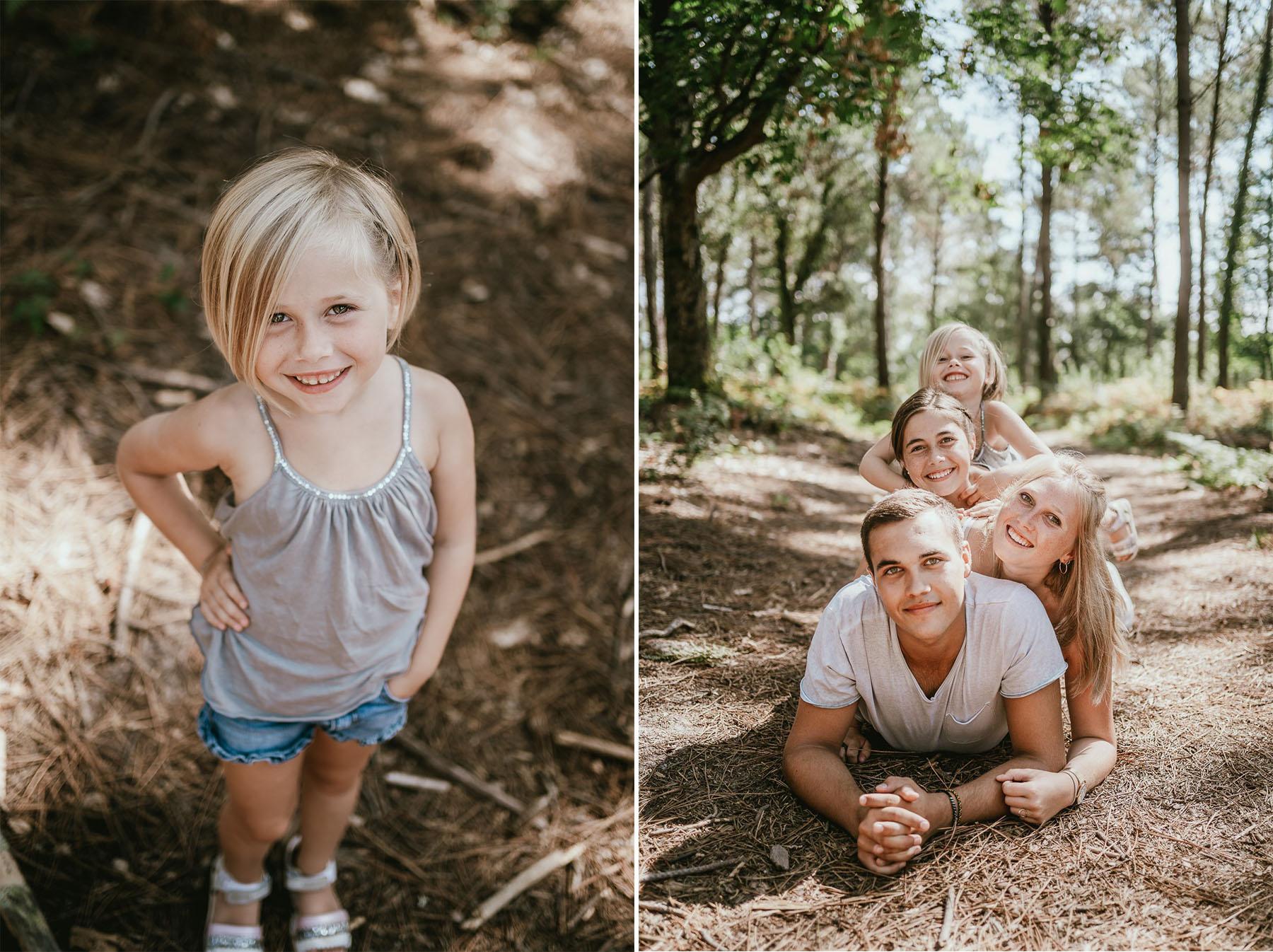 Photo famille landes capbreton plage foret photographe 1du