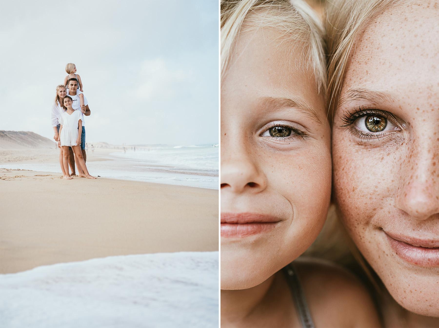Photo famille landes capbreton plage foret photographe 1ffd