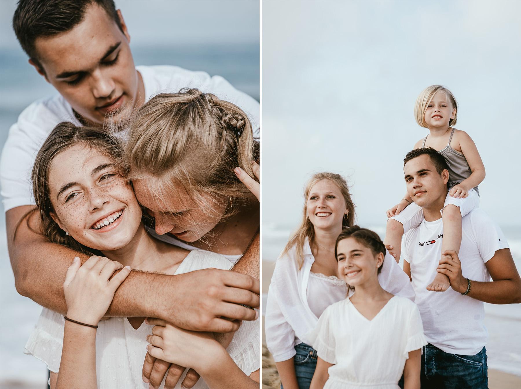 Photo famille landes capbreton plage foret photographe 22f