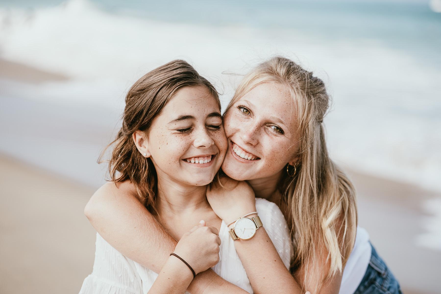Photo famille landes capbreton plage foret photographe 4