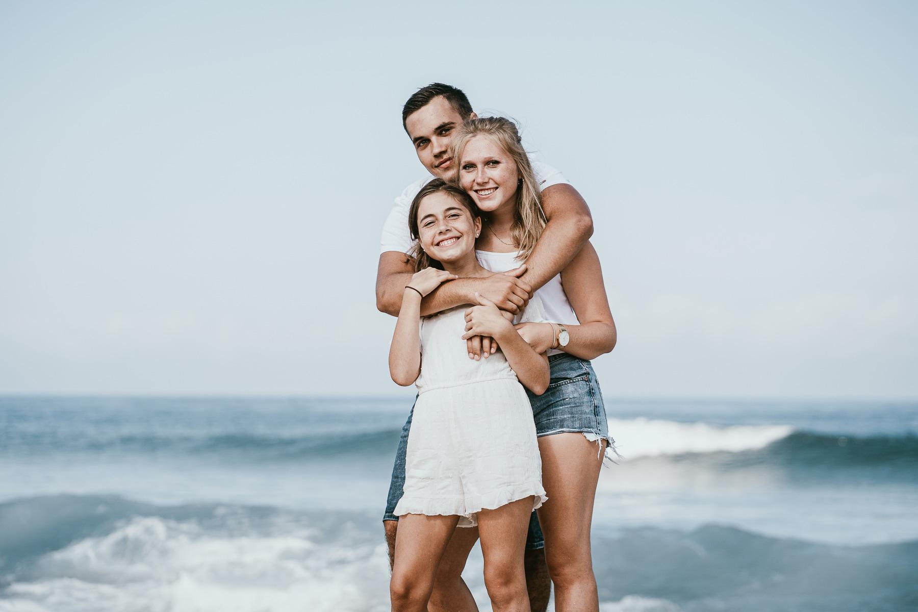 Photo famille landes capbreton plage foret photographe 6