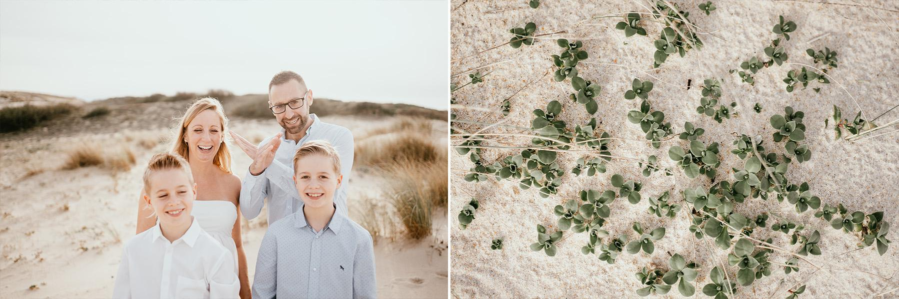 Photographe grossesse landes plage famille capbreton 2
