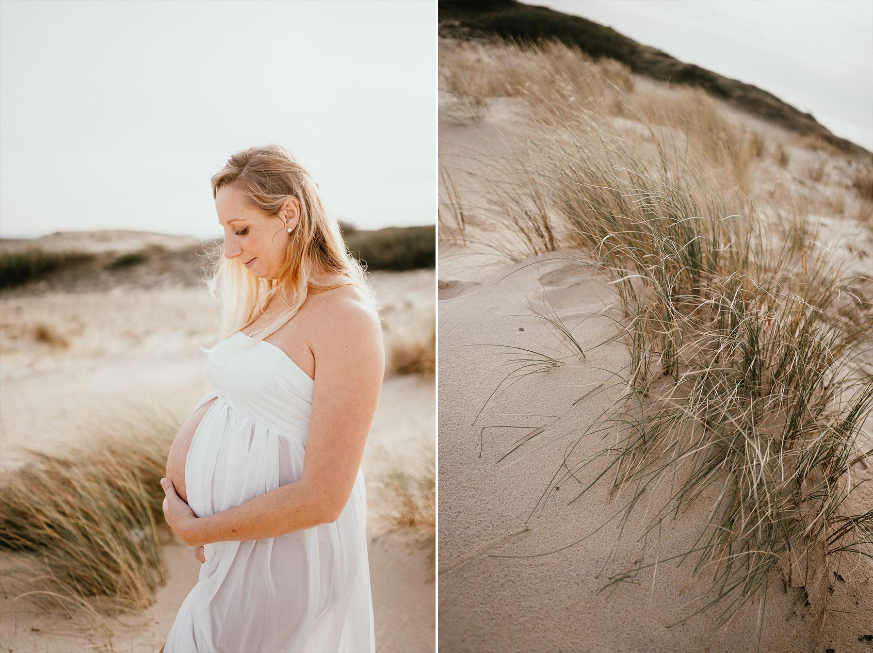 Photographe grossesse landes plage famille capbreton 3