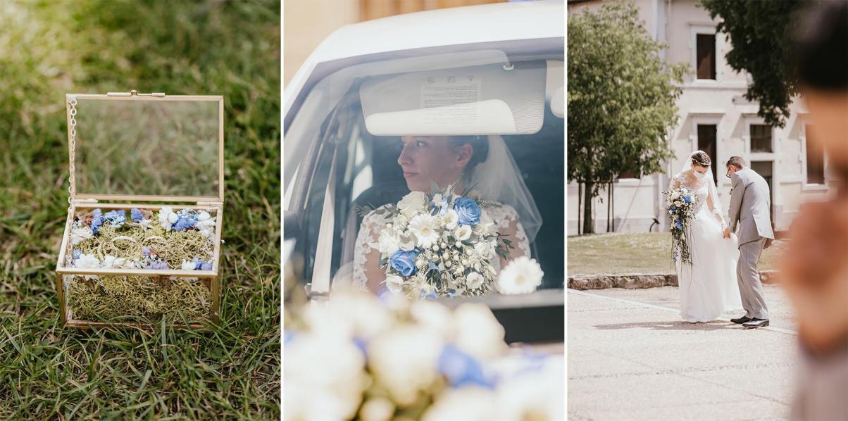 Photographe mariage dax landes aquitaine intimiste