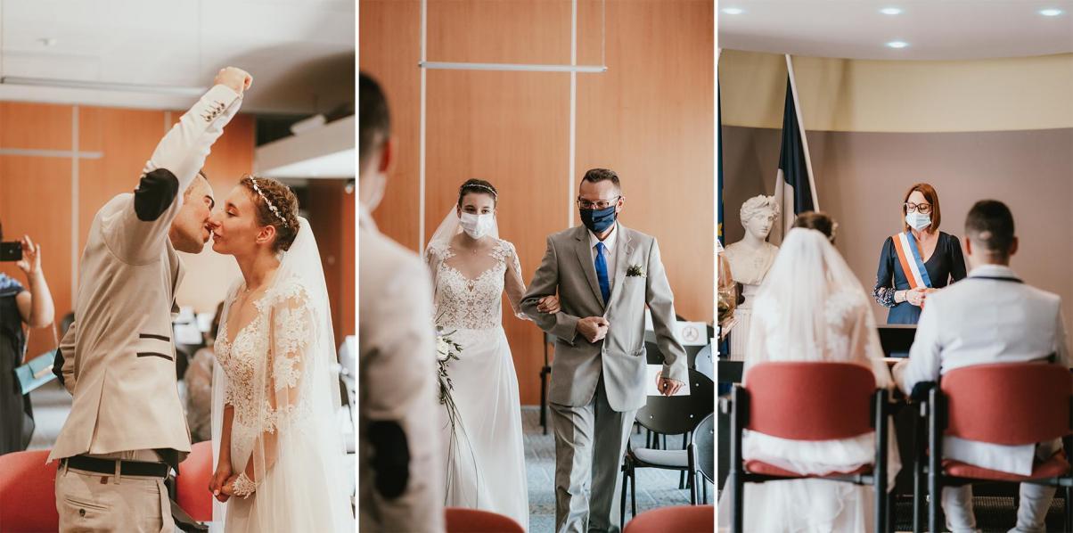 Photographe mariage dax landes aquitaine mairie