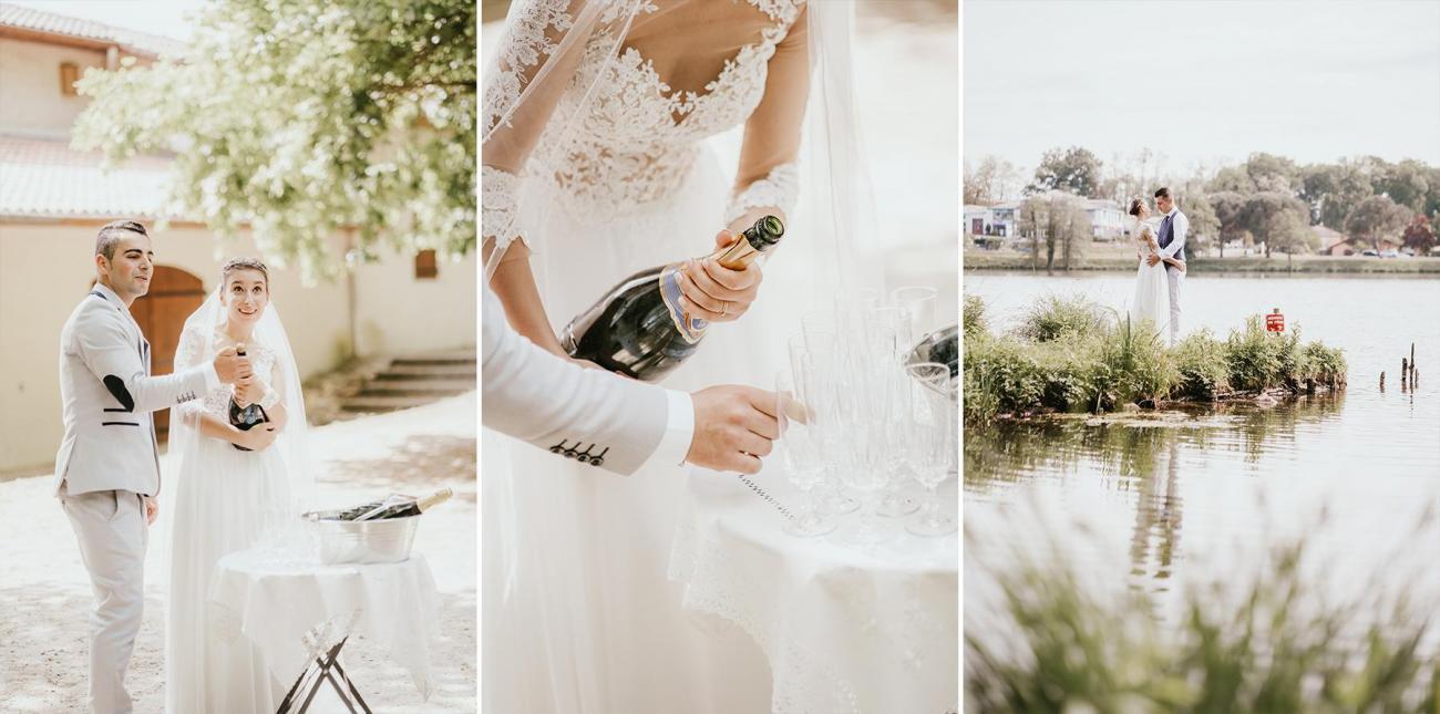 Photographe mariage dax landes aquitaine vin d honneur