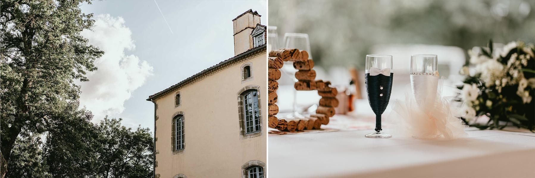 Photographe mariage landes chateau lupiac 8