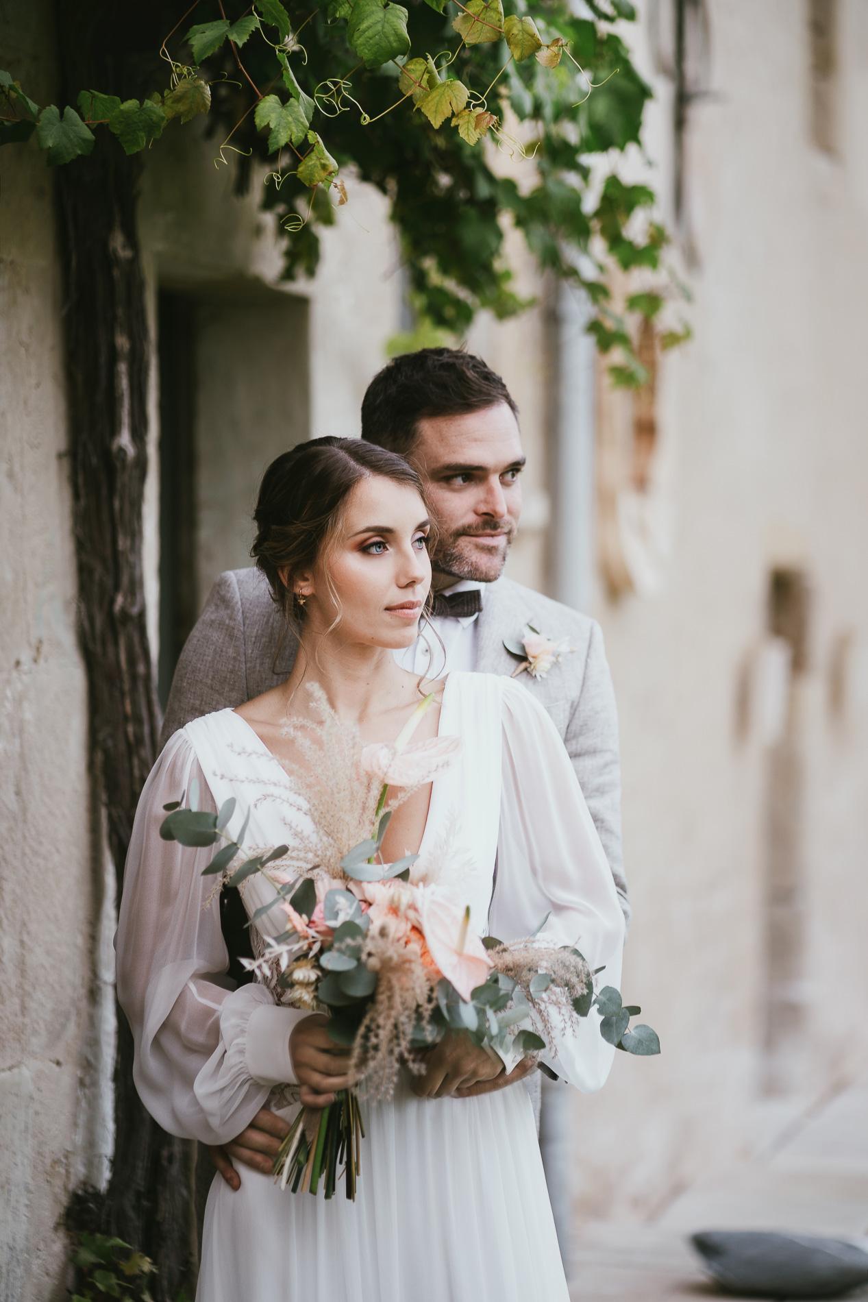 Photographe mariage landes dax aquitaine boheme moody chic 18