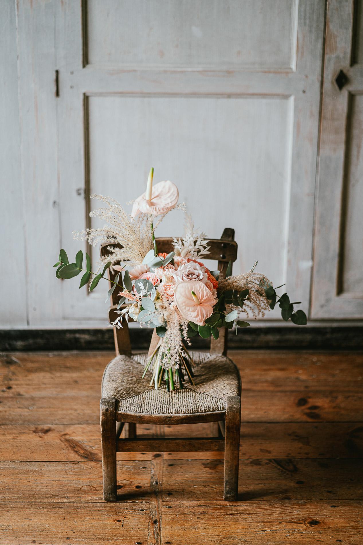 Photographe mariage landes dax aquitaine boheme moody chic 6
