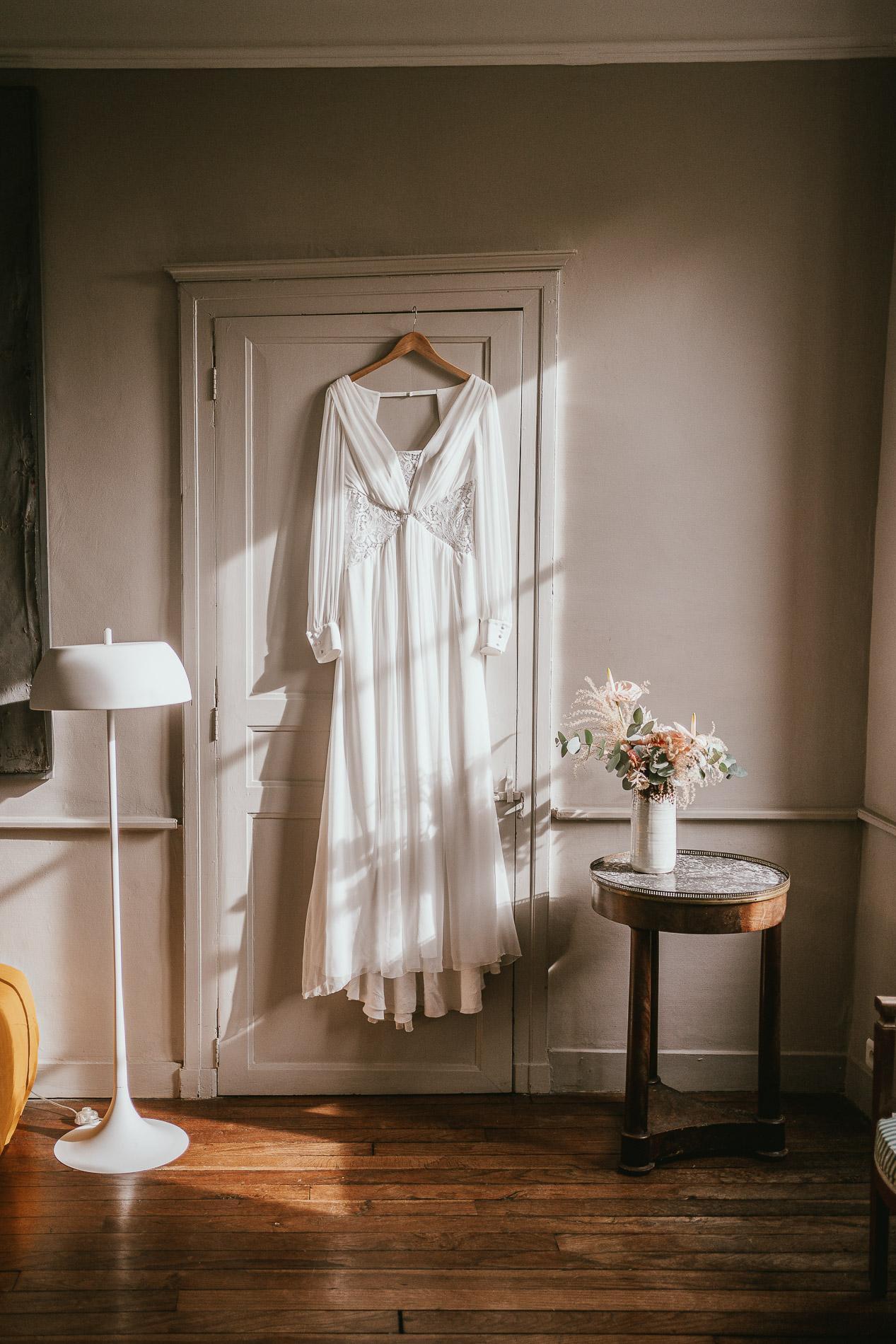 Photographe mariage landes dax aquitaine boheme moody chic 7
