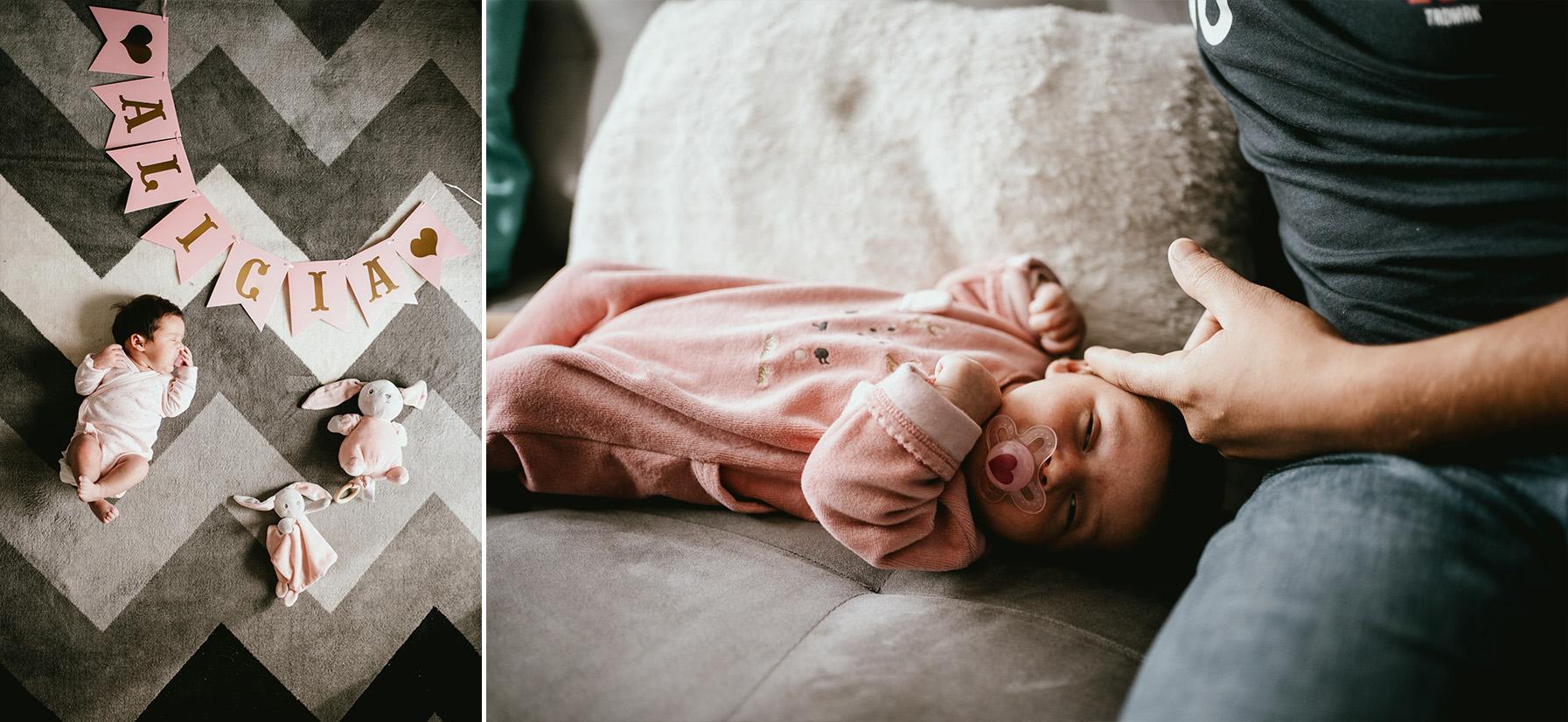 Photographe naissance dax famille maison lifestyle 2