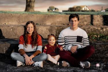 Reunir famille et defunts frere et soeurs photo montage photoshop photographe