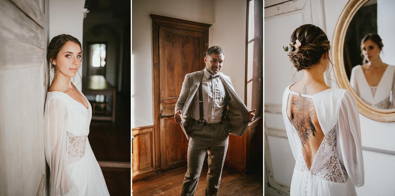 Robe de mariee costume mariage landes photographe dax
