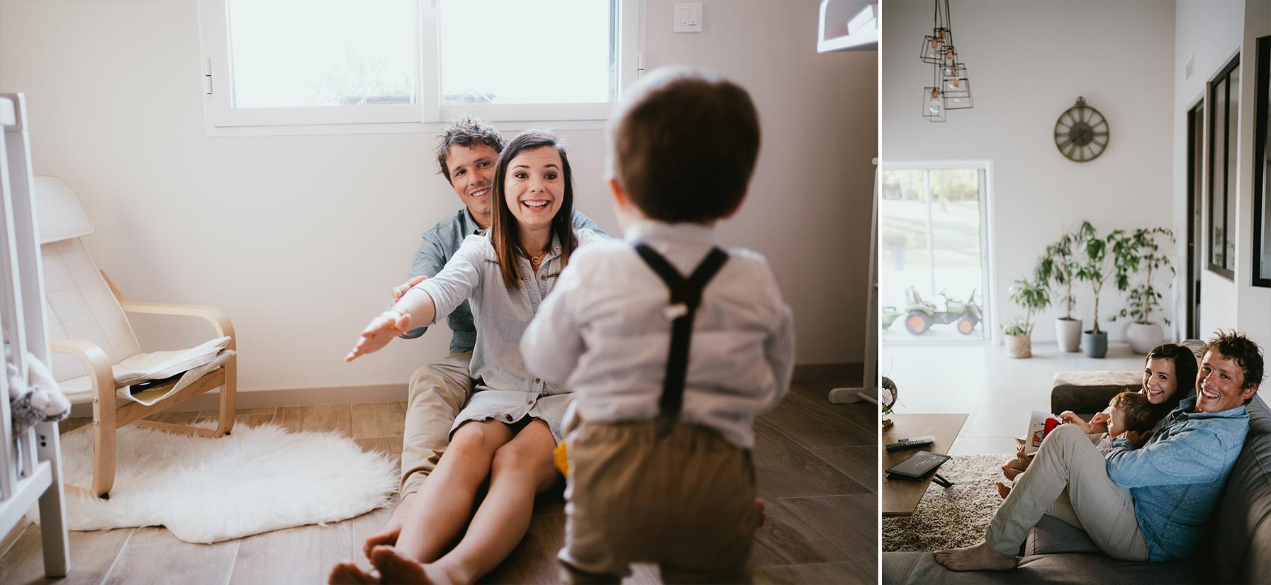 Seance photo famille landes photographe lifestyle